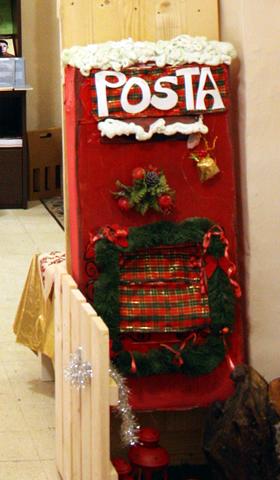 Ufficio postale di babbo natale spedisci la letterina for L ufficio postale di babbo natale